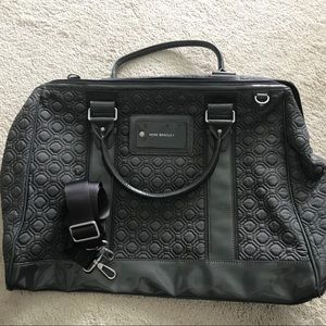 Vera Bradley frame travel bag w/ shoulder strap